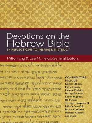 cover image of Devotions on the Hebrew Bible