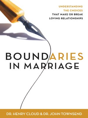 cover image of Boundaries in Marriage