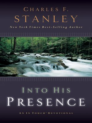 cover image of Into His Presence