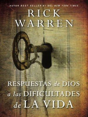 cover image of Respuestas de Dios a las dificultades de la vida