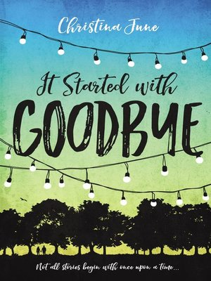 cover image of It Started with Goodbye