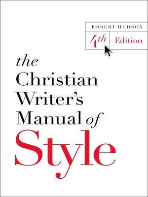 cover image of The Christian Writer's Manual of Style