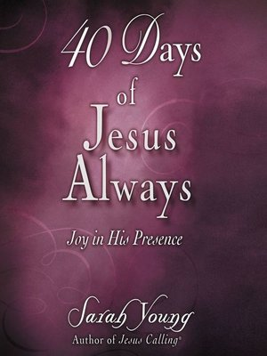cover image of 40 Days of Jesus Always