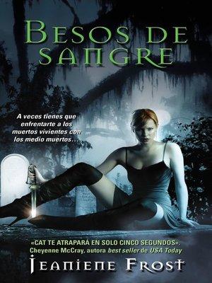 cover image of Besos de sangre