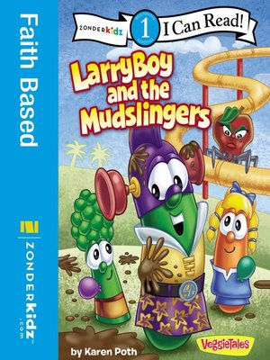 cover image of LarryBoy and the Mudslingers