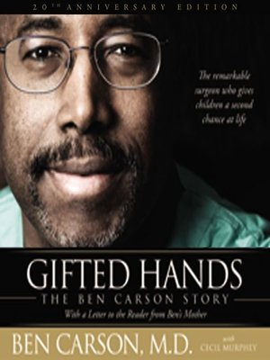 the influence of dr ben carsons book gifted hands in my life