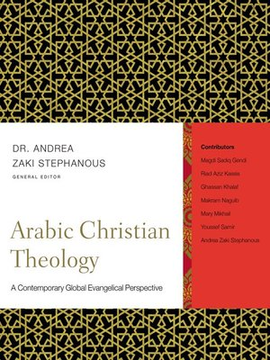 cover image of Arabic Christian Theology