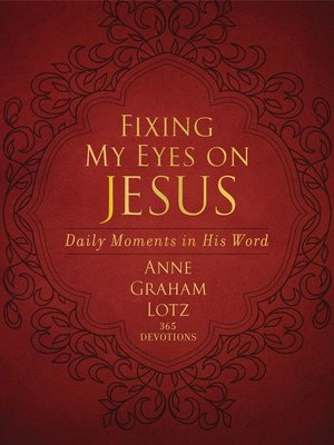 cover image of Fixing My Eyes on Jesus