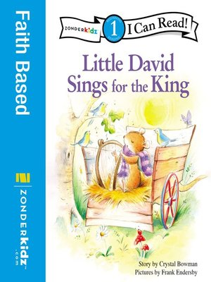 cover image of Little David Sings for the King