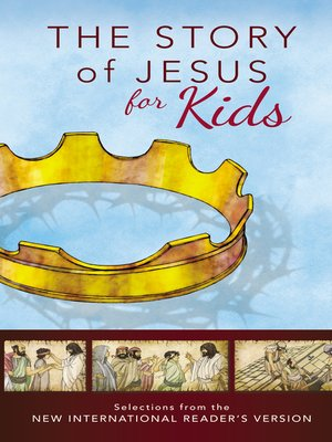 cover image of The Story of Jesus for Kids, NIrV