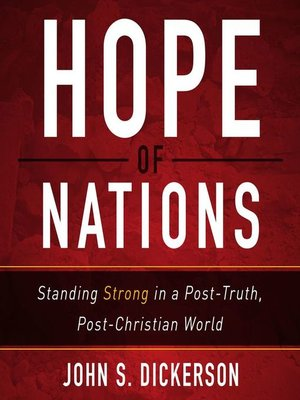 cover image of Hope of Nations