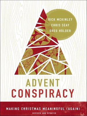 cover image of Advent Conspiracy