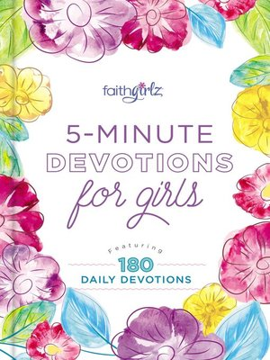 cover image of 5-Minute Devotions for Girls