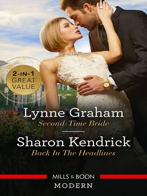 cover image of Second-Time Bride / Back in the Headlines