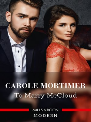 cover image of To Marry Mccloud