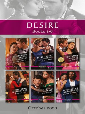 cover image of Desire Box Set 1-6 Oct 2020