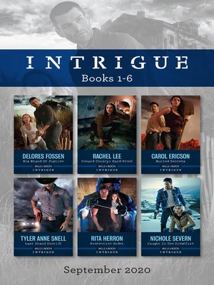 cover image of Intrigue Box Set 1-6 Sept 2020/His Brand of Justice/Conard County