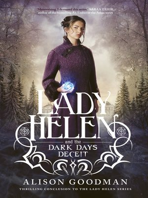 cover image of Lady Helen and the Dark Days Deceit