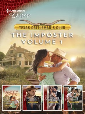 cover image of Texas Cattleman's Club: The Imposter, Volume 1