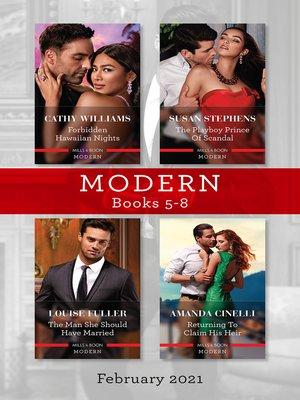 cover image of Modern Box Set 5-8 Feb 2021