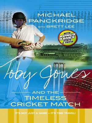 cover image of Toby Jones and the Timeless Cricket Match