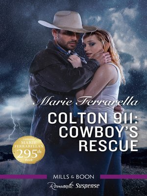 cover image of Cowboy's Rescue