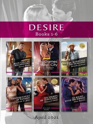 cover image of Desire Box Set Apr 2021