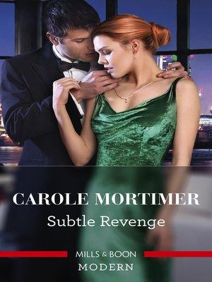 cover image of Subtle Revenge