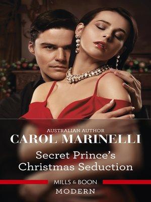 cover image of Secret Prince's Christmas Seduction