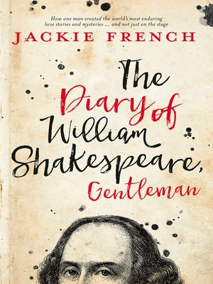 cover image of The Diary of William Shakespeare, Gentleman