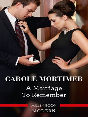 cover image of A Marriage to Remember