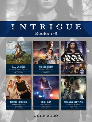 cover image of Intrigue Box Set 1-6 June 2020