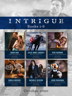 cover image of Intrigue Box Set 1-6 Oct 2020