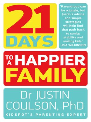 cover image of 21 Days to a Happier Family