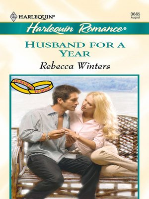 cover image of Husband For a Year