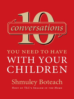 cover image of 10 Conversations You Need to Have with Your Children