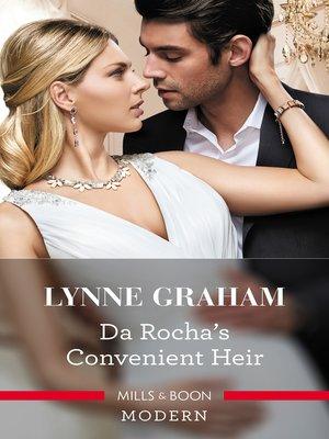 cover image of Da Rocha's Convenient Heir