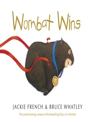 cover image of Wombat Wins