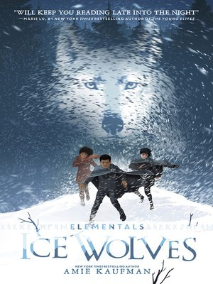 cover image of Ice Wolves (Elementals, #1)