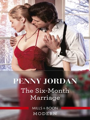 cover image of The Six-Month Marriage