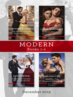 cover image of Modern Box Set 1-4