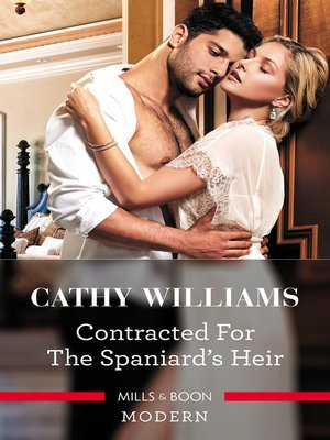 cover image of Contracted for the Spaniard's Heir