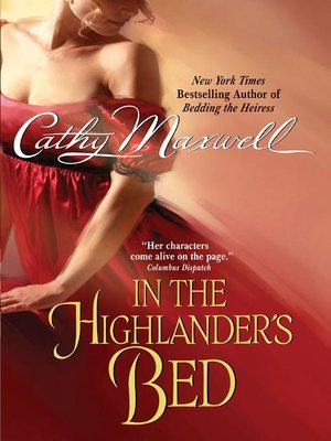 cover image of In the Highlander's Bed