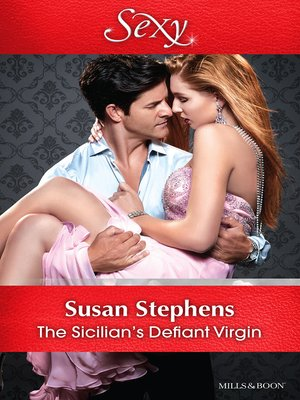 cover image of The Sicilian's Defiant Virgin
