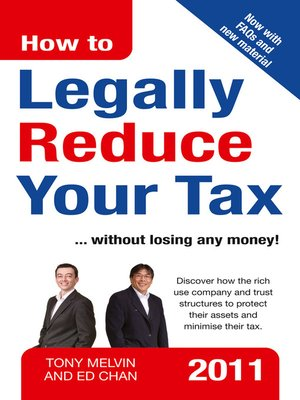 cover image of How to Legally Reduce Your Tax
