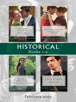 cover image of Historical Box Set Feb 2021