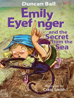 cover image of Emily Eyefinger and the Secret from the Sea