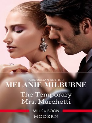 cover image of The Temporary Mrs. Marchetti
