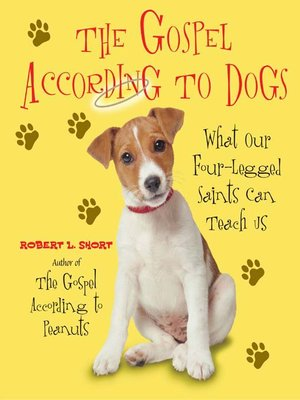 cover image of The Gospel According to Dogs