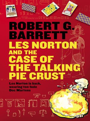 cover image of Les Norton and the Case of the Talking Pie Crust